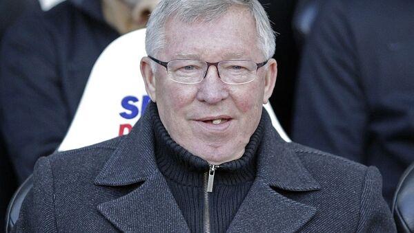 Manchester United'ın eski teknik direktörü Sir Alex Ferguson - Sputnik Türkiye