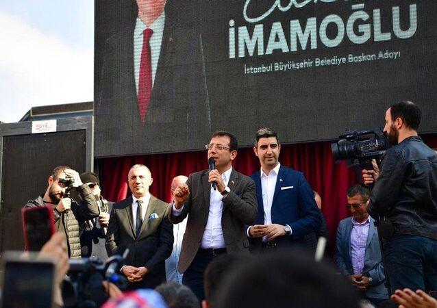 CHP'nin İstanbul Büyükşehir Belediye Başkan Adayı Ekrem İmamoğlu, Kartal'da vatandaşlara projelerini anlatarak yeşil alanın önemine değindi.