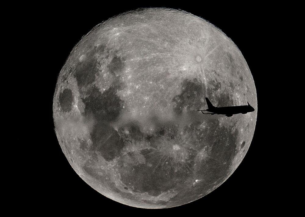 Arjantin'de Süper Ay