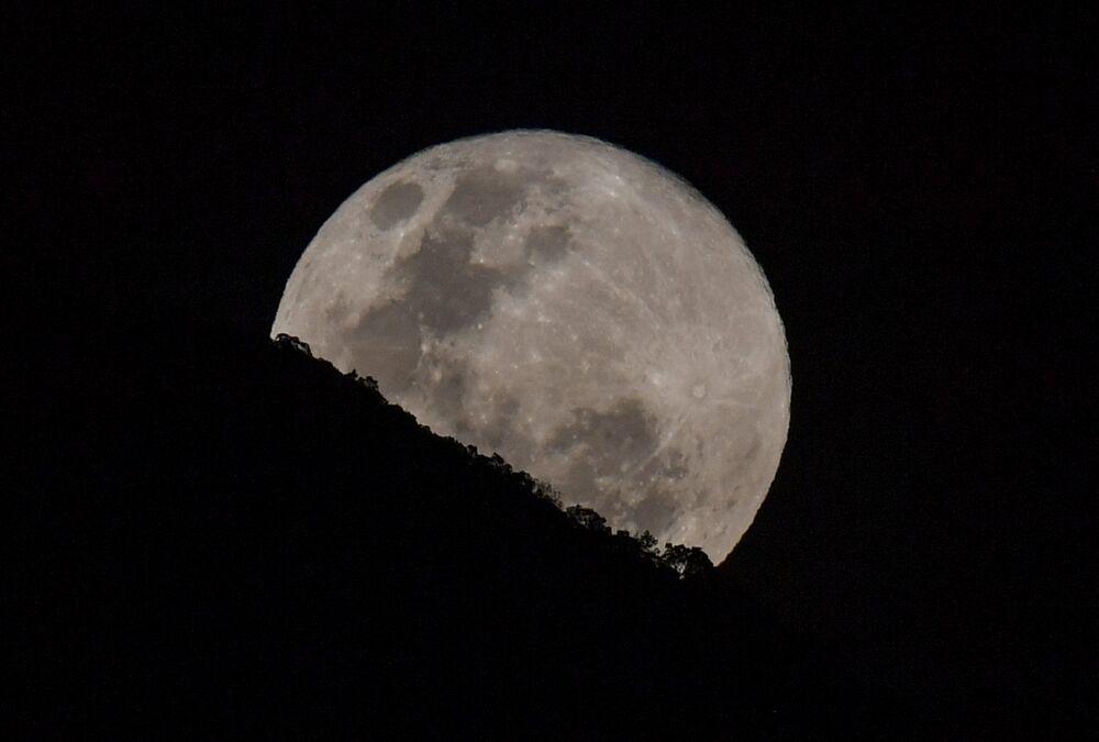Venezüella'da Süper Ay