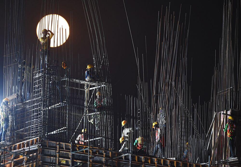 Hindistan'da Süper Ay