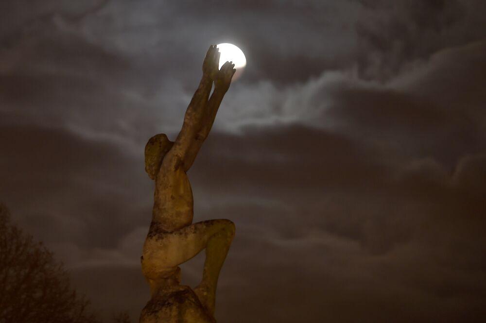 Fransa'da Süper Ay