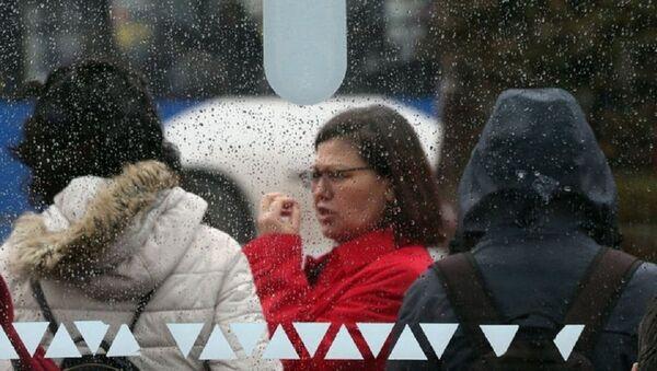 Meteoroloji - sağanak yağış - fırtına - Sputnik Türkiye