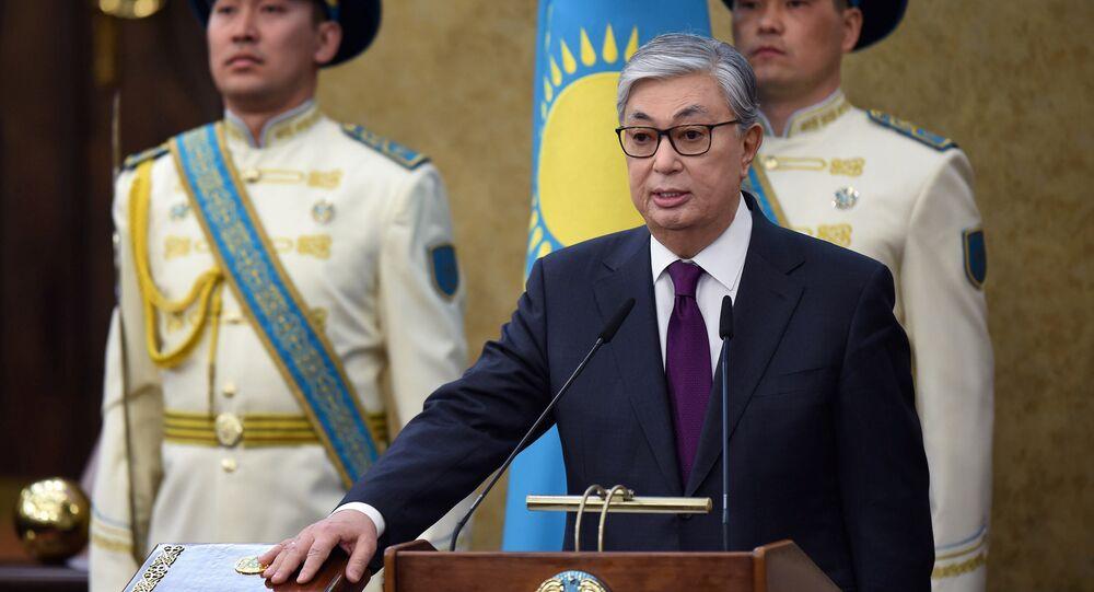 Kazakistan'ın yeni Devlet Başkanı Kasım Cömert Tokayev