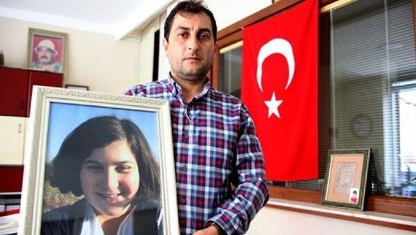 Rabia Naz Vatan'ın babası Şaban Vatan - Sputnik Türkiye