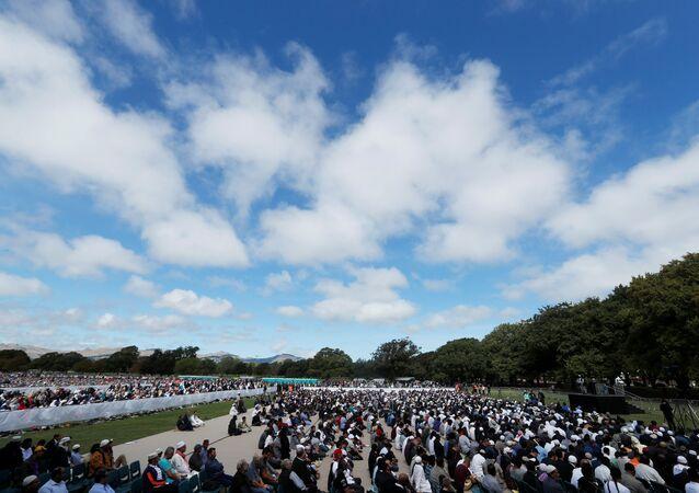 Yeni Zelanda'da cami katliamı sonrası ilk cuma namazı