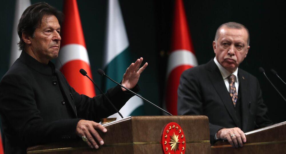 İmrah Han ile Recep Tayyip Erdoğan