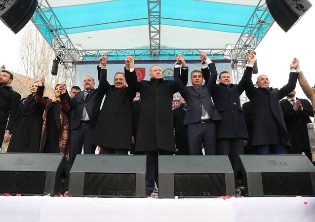 Cumhurbaşkanı Erdoğan- Ankara Gölbaşı açılış töreni