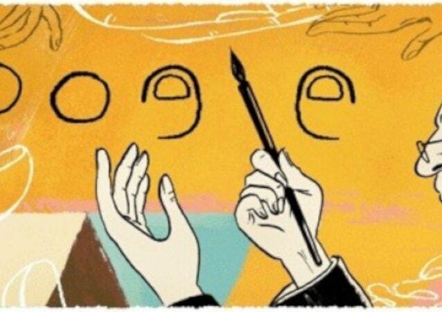 Google, usta ressam, karikatürist, yazar, film yönetmeni Abidin Dino'nun 106. yaşını özel bir doodle ile kutluyor.