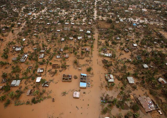 Mozambik'te Idai kasırgası ve sel