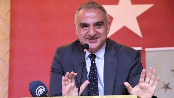 Kültür ve Turizm Bakanı Mehmet Nuri Ersoy - Sputnik Türkiye