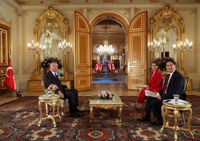 Cumhurbaşkanı Recep Tayyip Erdoğan, TGRT Haber'de