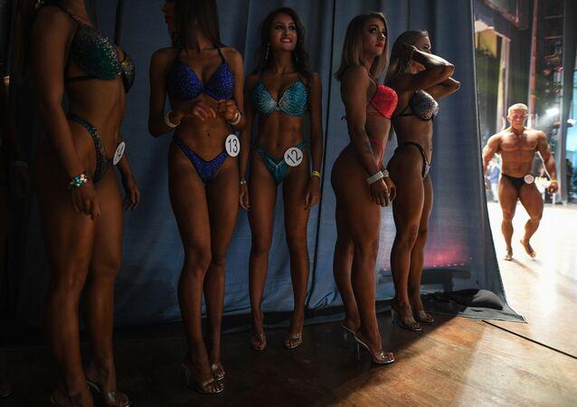 Rusya'da Vücut Geliştirme Şampiyonası