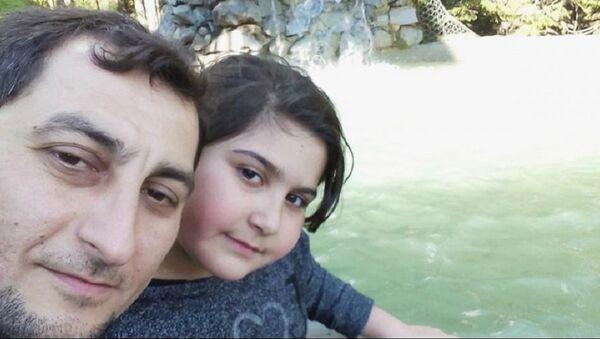 Rabia Naz ile babası Şaban Vatan - Sputnik Türkiye