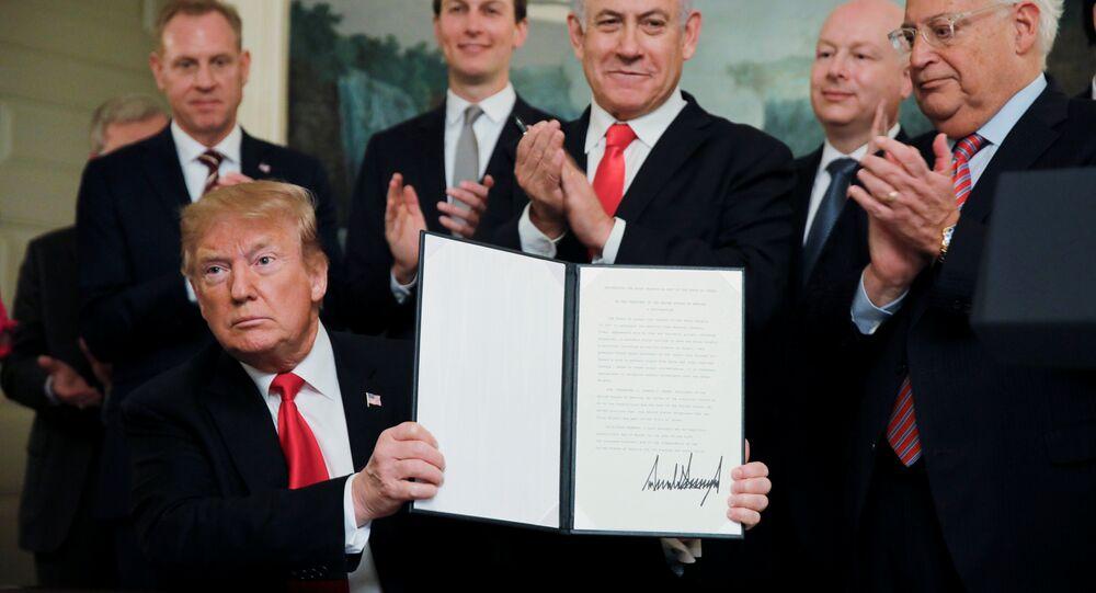 Donald Trump - Benyamin Netanyahu