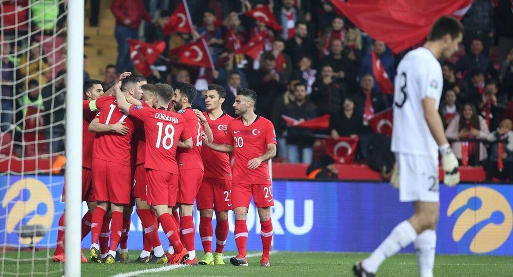 Türkiye A Milli Futbol Takımı, 2020 Avrupa Şampiyonası (EURO 2020) Elemeleri H Grubu ikinci maçında Moldova'yı 4-0 yendi.