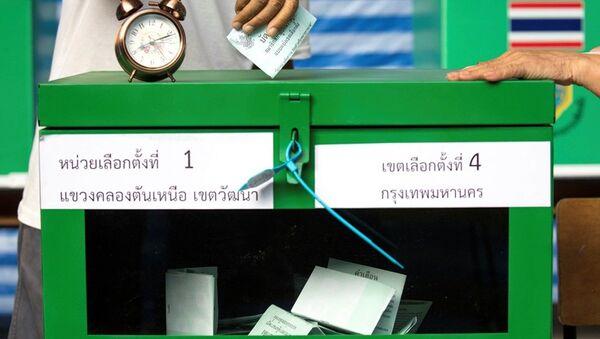 Tayland'daki genel seçim - Sputnik Türkiye