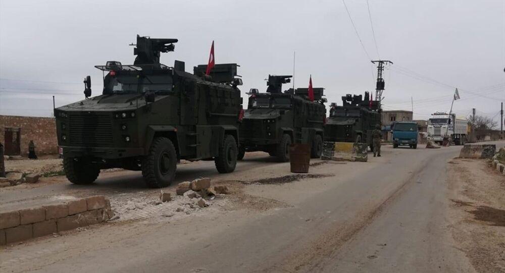 TSK ve Rusya Silahlı Kuvvetleri'nden Tel Rıfat'ta ilk devriye