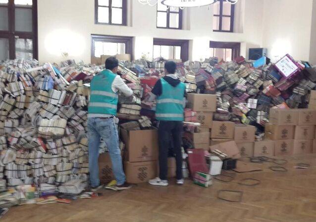 Hükümlüler 4 yılda 7 milyon kitap tasnif etti