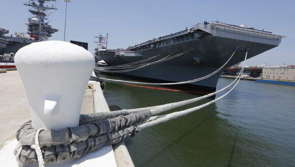 ABD'nin Gerald R. Ford (CVN-78) sınıfı süper uçak gemisi - Sputnik Türkiye