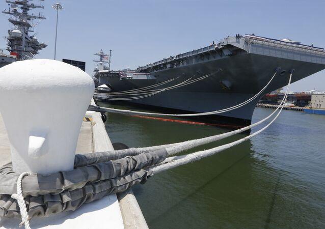 ABD'nin Gerald R. Ford (CVN-78) sınıfı süper uçak gemisi
