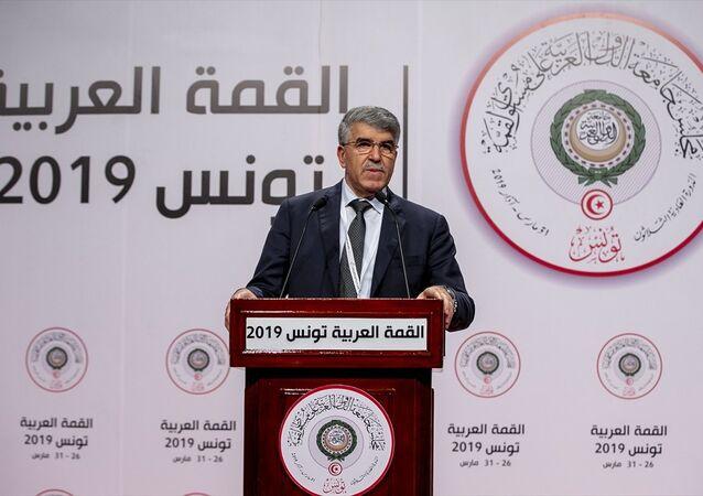 Arap Birliği Zirvesi Sözcüsü, Mahmud el-Hümeyri