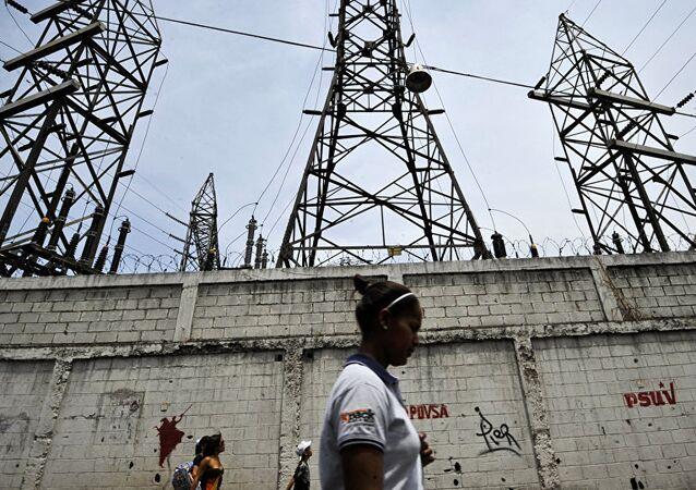Venezüella - elektrik santrali