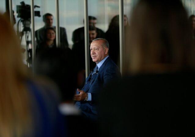 Recep Tayyip Erdoğan, Ankara'da gençlerle bir araya geldi
