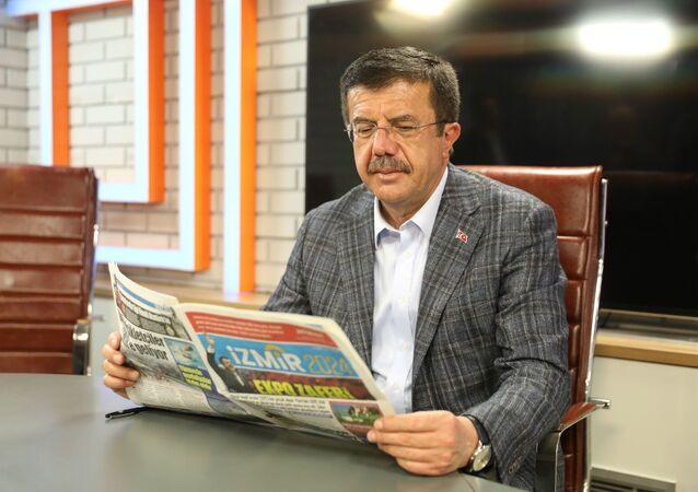 'İzmir 2024' adlı ve 31 Mart 2024 Pazar tarihini taşıyan gazetede, Zeybekci'nin İzmir için sözünü verdiği projelerin hayata geçmiş olduğu anlatıldı.
