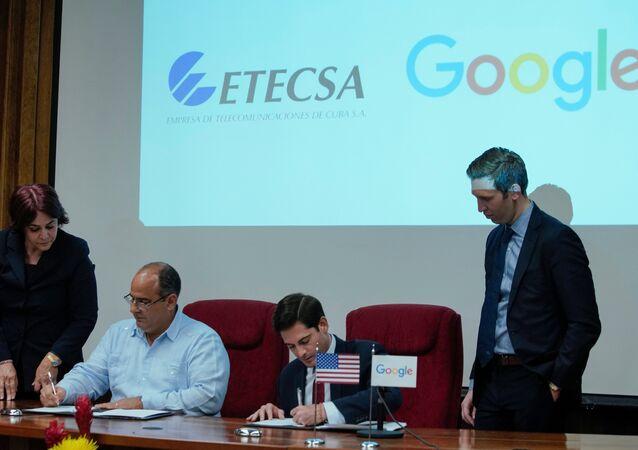 Google ve Küba arasında 'internet bağlantısını güçlendirme' anlaşması