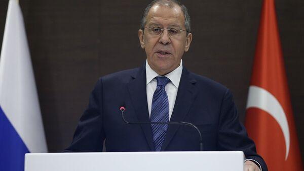 Sergey Lavrov- Mevlüt Çavuşoğlu - Sputnik Türkiye