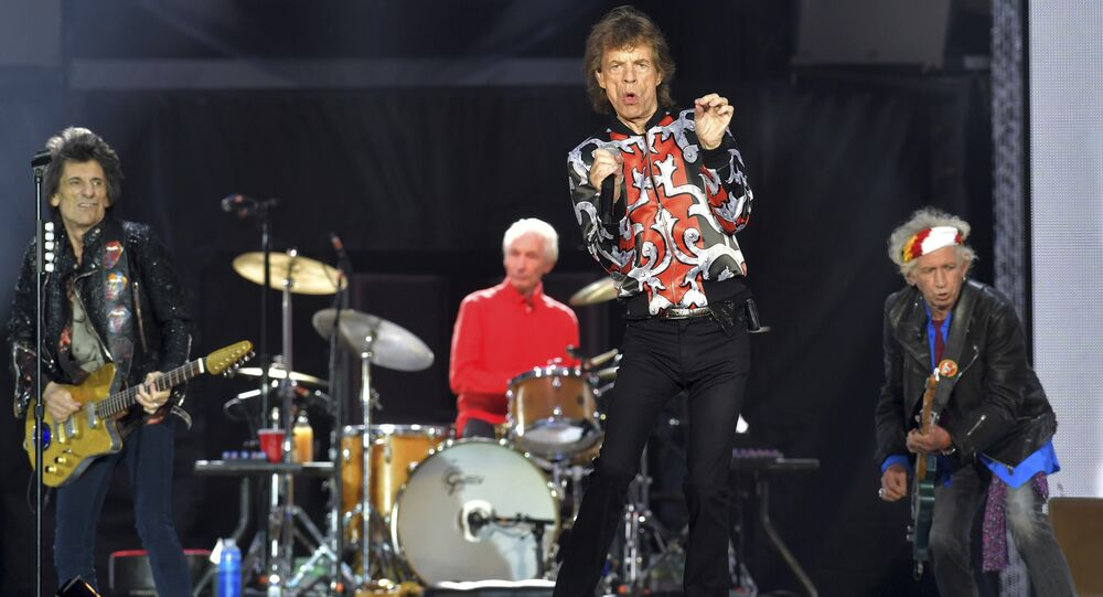 The Rolling Stones Londra konseri