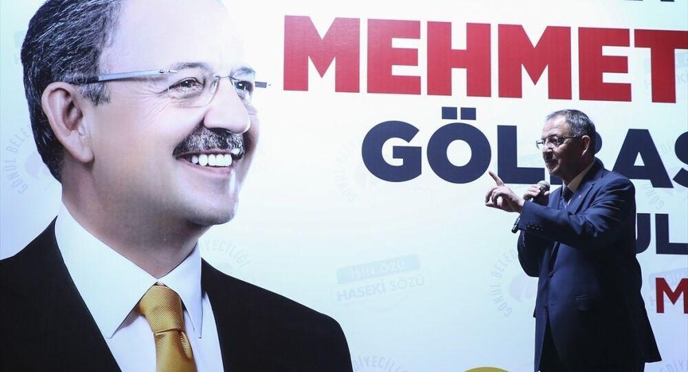 AK Parti Ankara Büyükşehir Belediye Başkan Adayı Özhaseki
