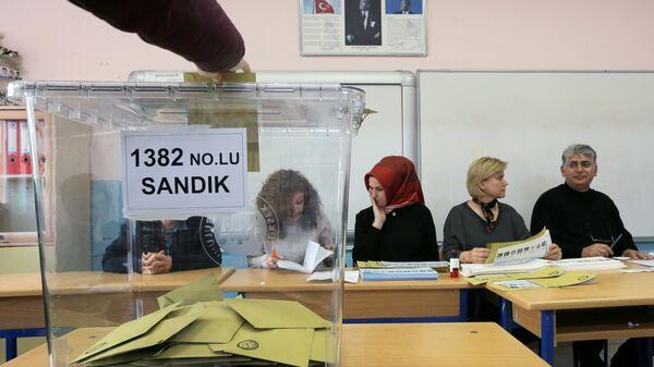 Yerel Seçim 2019, sandık, oy - Sputnik Türkiye