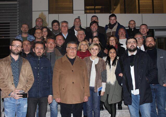 Kırklareli'de, seçimlere bağımsız olarak giren Mehmet Siyam Kesimoğlu, seçimi kazandığını açıkladı.