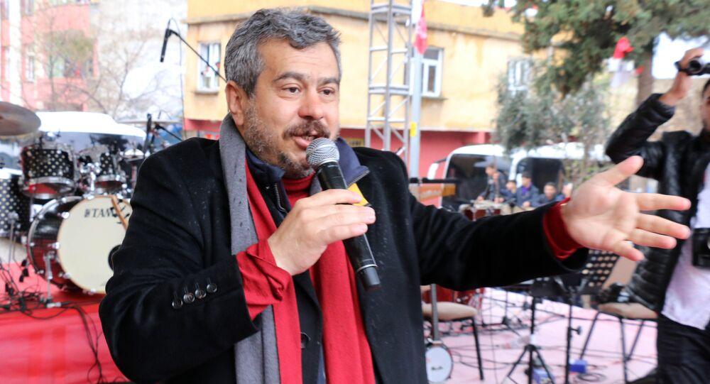Şanlıurfa Siverek CHP ilçe belediye başkan adayı Fatih Mehmet Bucak