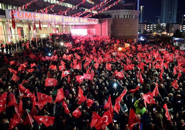 CHP, yerel seçim, kutlama