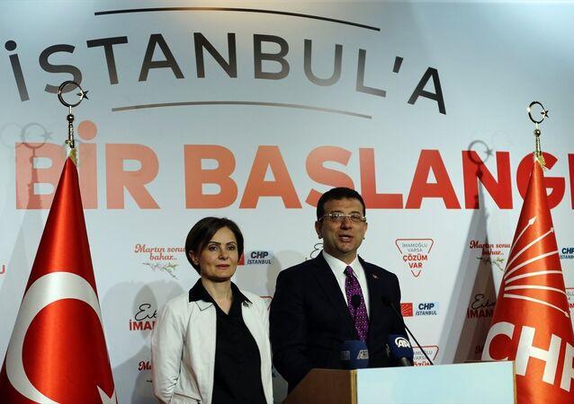 Canan Kaftancıoğlu - Ekrem İmamoğlu
