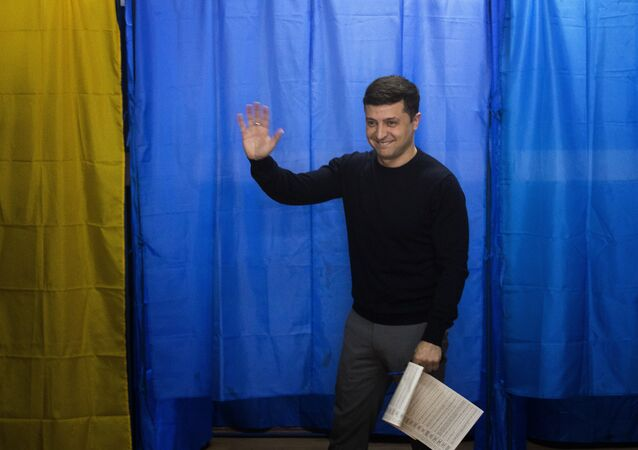 Ukrayna devlet başkanlığı seçimleri- komedyen Vladimir Zelenskiy