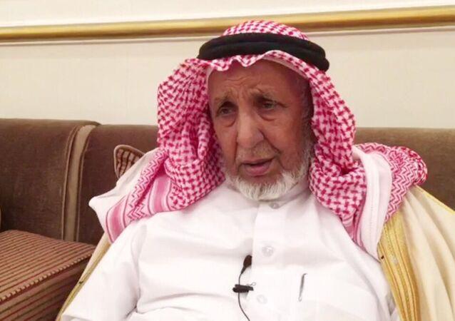 Katar'daki Murra aşireti liderlerinden Şeyh Talib bin Lahum bin Şuraym