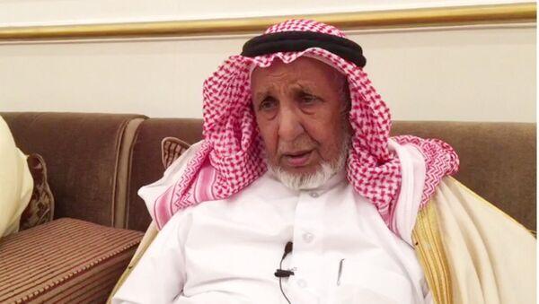 Katar'daki Murra aşireti liderlerinden Şeyh Talib bin Lahum bin Şuraym - Sputnik Türkiye