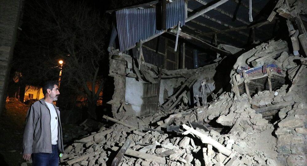 Elazığ deprem