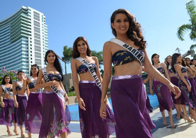 2019 Filipinler Güzeli adayları basına tanıtıldı