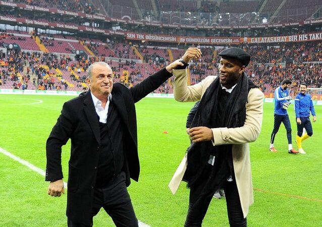 Didier Drogba - Fatih Terim
