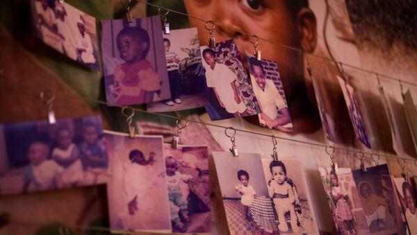 Ruanda soykırımı 25. yıldönümü anmaları - Sputnik Türkiye