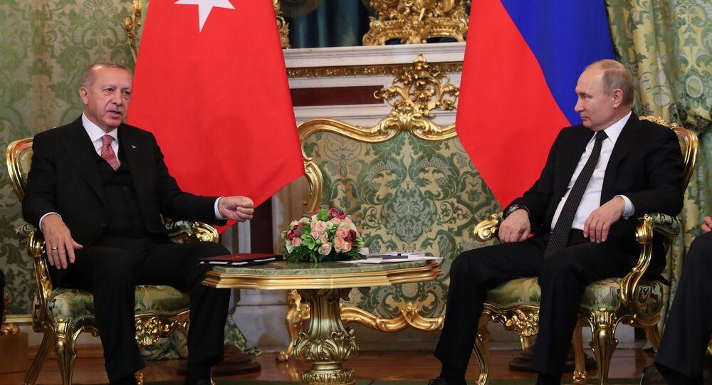 Vladimi Putin - Recep Tayyip Erdoğan