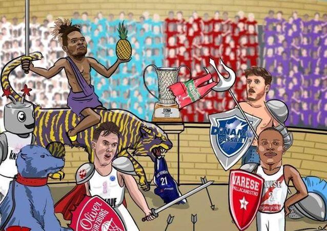 FIBA'dan Karşıyaka'yı kızdıran paylaşım