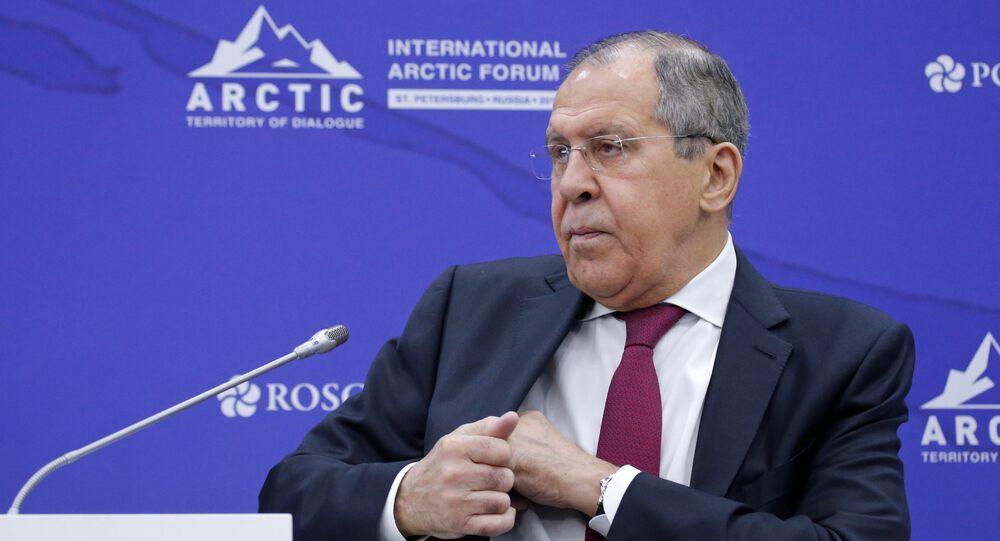 Rusya Dışişleri Bakanı Sergey Lavrov, Beşinci Uluslararası Arktik Forumu'nda konuştu.