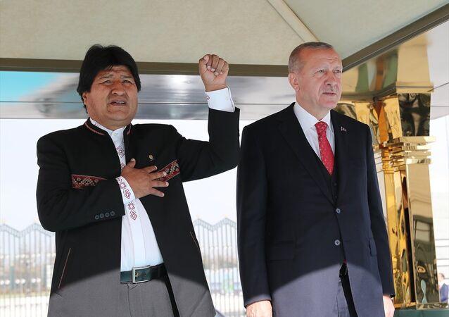 Juan Evo Morales Ayma - Recep Tayyip Erdoğan