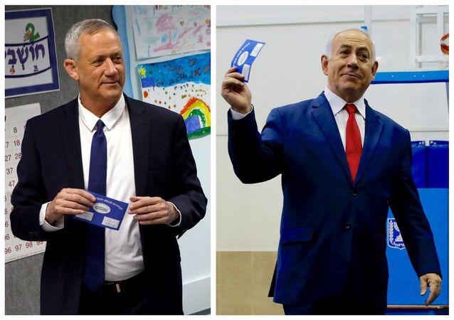 Benny Gantz - Benyamin Netanyahu